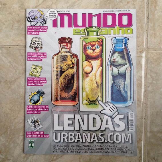 Revista Mundo Estranho Ed102 Ago 2010 Lendas Urbanas