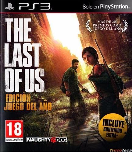 Imagen 1 de 4 de The Last Of Us Edicion Juego Del Año Ps3 Digital
