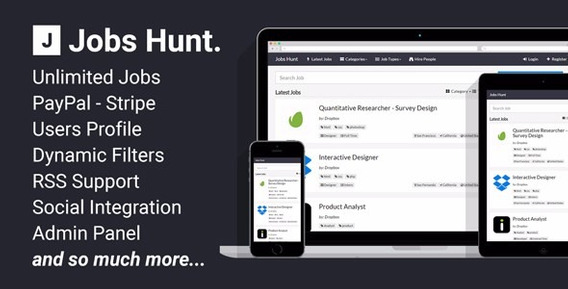 Codecanyon - Jobs Hunt - O Portal De Emprego