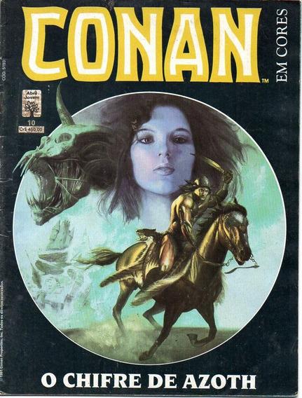Revista Conan Nº 10 - O Chifre De Azoth