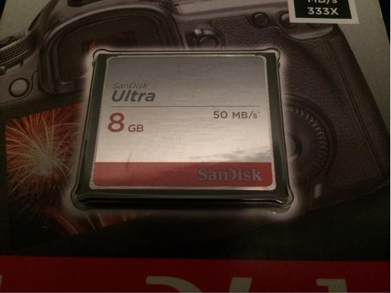Cartão De Memória Cf 8gb Ultra Melhor Desempenho