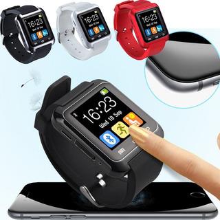 Relógio Bluetooth Inteligente Moda Casual Android E iPhone
