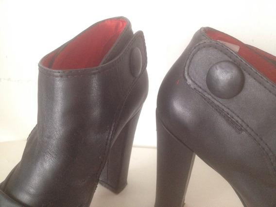 Zapato Leblu Cuero Negro
