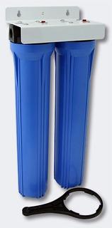 Filtro Central Remoção Turbidez Cloro Flúor Metais Pedados