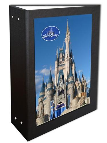 Album Castelinho Disney Preto 13x18 - 360 Fotos + Brinde