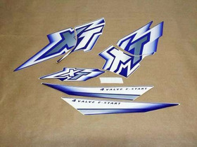 Kit De Adesivos Yamaha Xt 600 - 2000 À 01