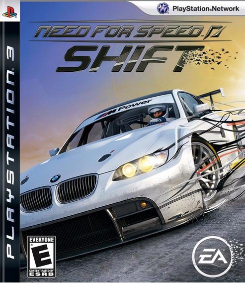 Need For Speed Shift Ps3 Lacrado!! Midia Física!