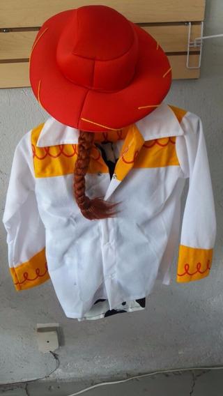 Disfraz Jessy Toy Story Vaquerita Sombrero Fiesta Niña