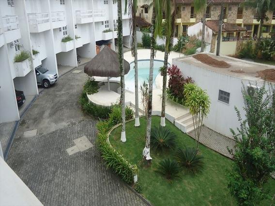 Ref.: 322 - Casa Condomínio Fechado Em Bertioga, No Bairro Guaratuba Costa Do Sol - 3 Dormitórios