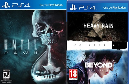 Combo Heavy Rain Beyond Collection + Until Down Para Ps4