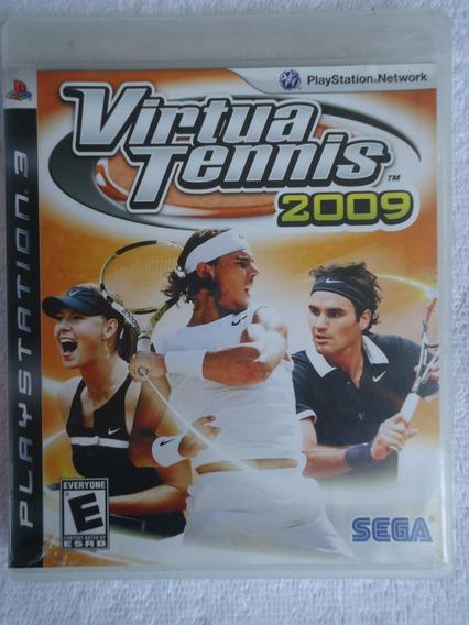 Virtua Tennis 2009 Ps3 ** Frete Grátis Leia
