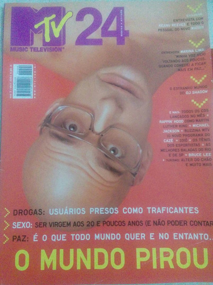 Revista Mtv N. 24 Keanu Reeves,