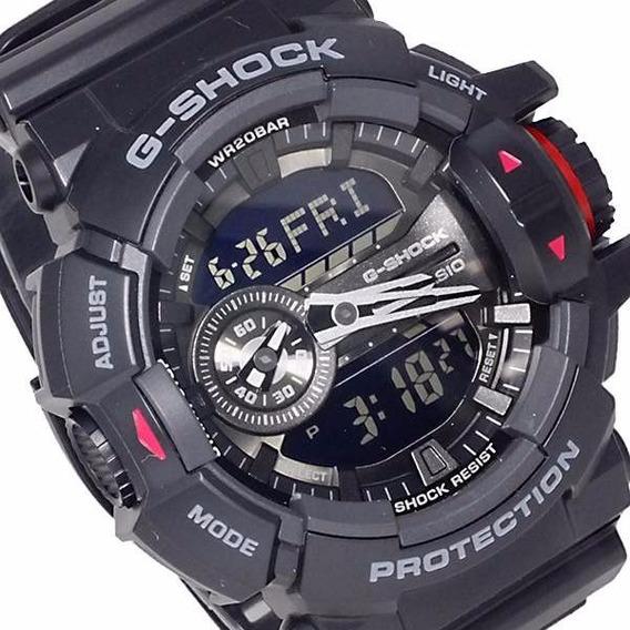 Relogio Casio G-shock Ga-400-1bdr 1 Ano Garantia 12x S Juros