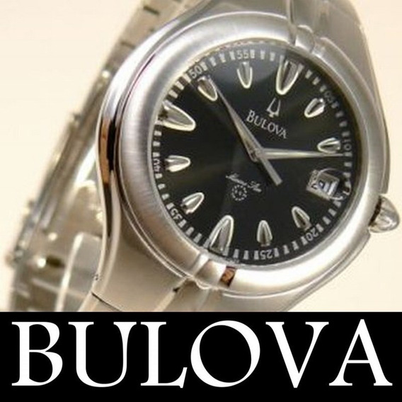 Bulova Relogio Unissex Marine Star 63b28 36mm Original Sp