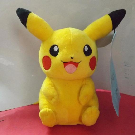 Pikachu Pokemon Original Pelúcia 22cm - Pronta Entrega