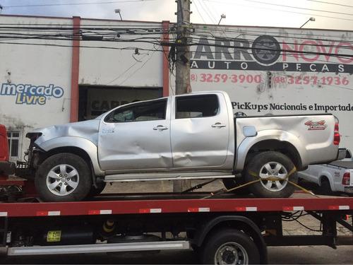 Sucata Toyota Hilux Srv 2014 Pecas Cambio Lataria Motor
