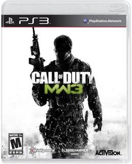 Call Of Duty Modern Warfare 3 C/ Dlc Playstation 3 Fisico