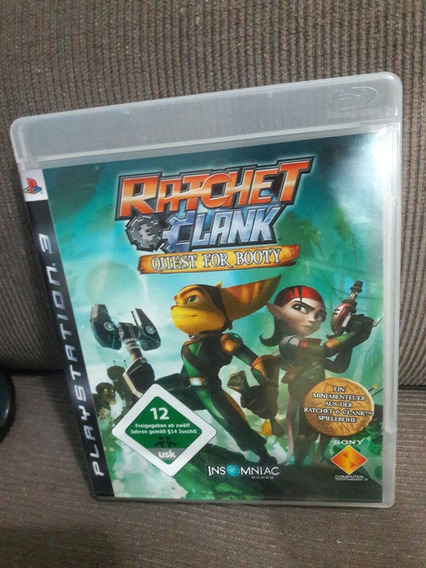 Ratchet Clank Quest For Booty - Ps3 Midia Fisica ( Pt )