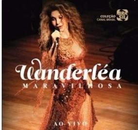 Cd Wanderlea - Maravilhosa Ao Vivo - Original E Lacrado