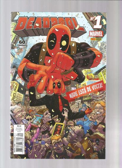 Deadpool 01 4ª Serie - Panini 1 - Bonellihq Cx47 E19