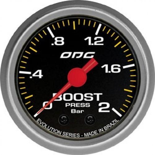 Manômetro Turbo Boost Evolution