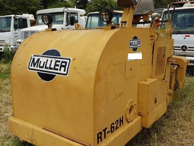 Muller Rt62h Ano: 1986 Rolo Compactador