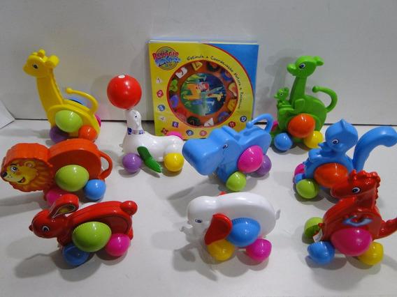 Agora 13(treze) Brinquedos Didaticos Educativos Animais Zoo