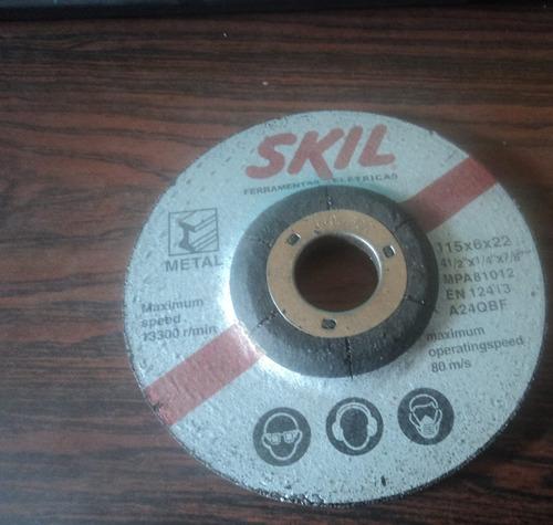 Disco Para Esmerilar Skill 4 Y 1/2