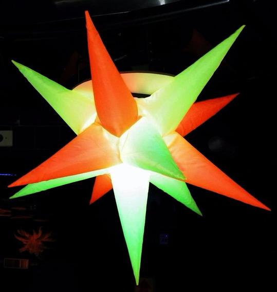 Sputnik Estrela Neon Cítrico,novidade,dj,barman,carnaval Luz