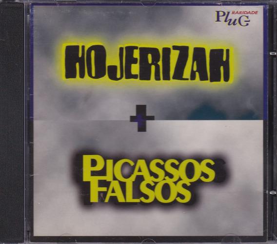 Hojerizah + Picassos Falsos - Cd Plug Raridade - 1987 / 1988