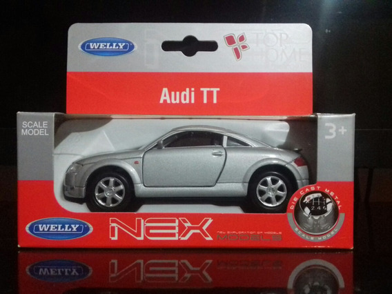 Miniatura Audi Tt - Welly (12cm) - Escala 1:32