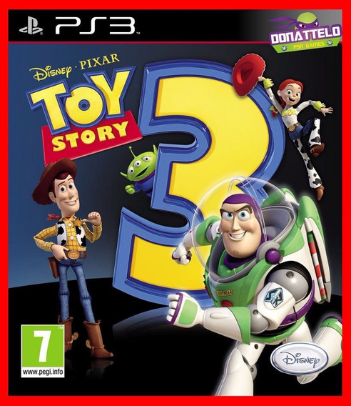 Toy Story 3 Ps3 Psn Jogo Play 3 Infantil Disney Pixar