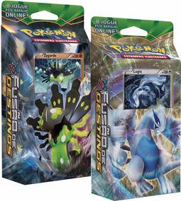 Novo Combo 2 Decks Card Game Pokémon Xy10 Lugia +zygarde