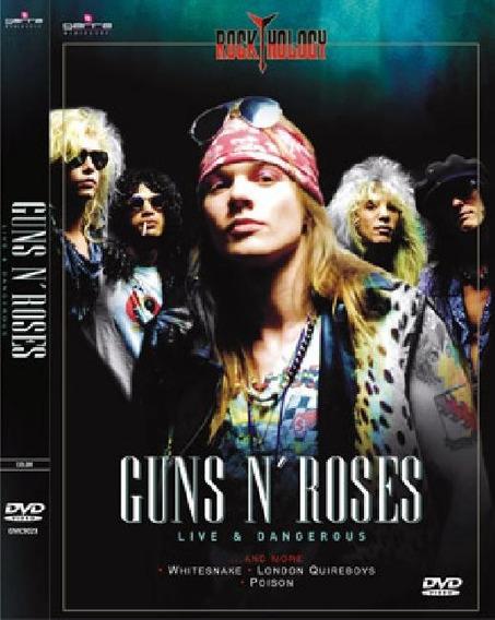 Guns N Roses - Live & Dangerous Dvd - Sb