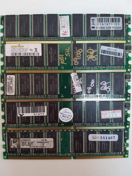 Memória 512mb / Ddr400 / Pc3200