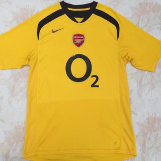 11082595 Camisa Nike Arsenal Away 05/06 P Amarela Fn1608