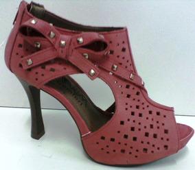 Sapato Feminino Salto Assandalhado Ramarim 1329108
