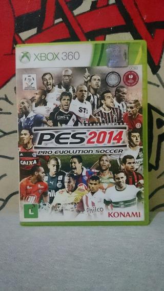Pro Evolution Soccer 2014 Pes 14 Xbox 360 Faço Desconto!