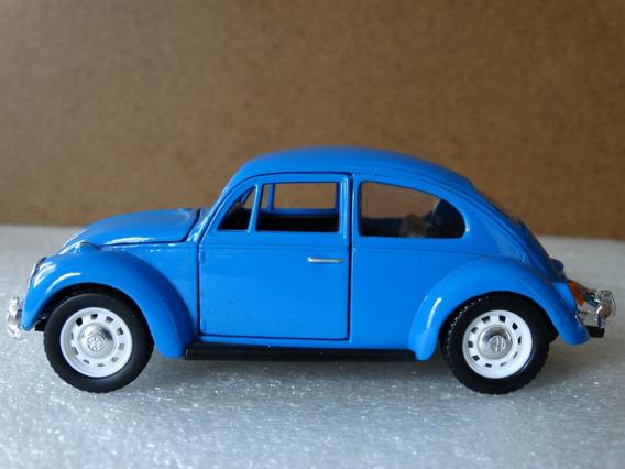 67 Vw Classical Beetle Fusca Azul Sunnyside 1:32 Loose