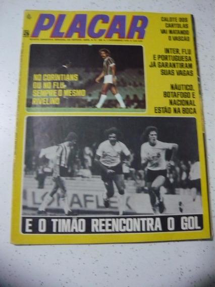 Revista Placar 293 Cruzeiro Inter Coritiba Santa Cruz 1975