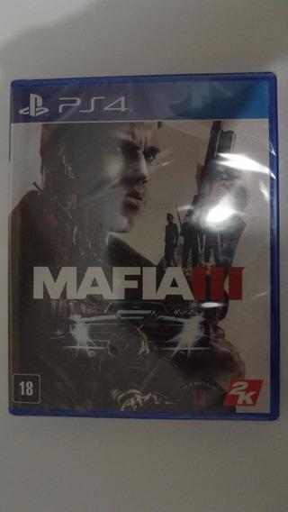 Mafia 3 Ps4 Física - Novo E Lacrado