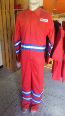 Frabricante Bragas Ignifugas 100%algodon Rojas Modelo Pdvsa