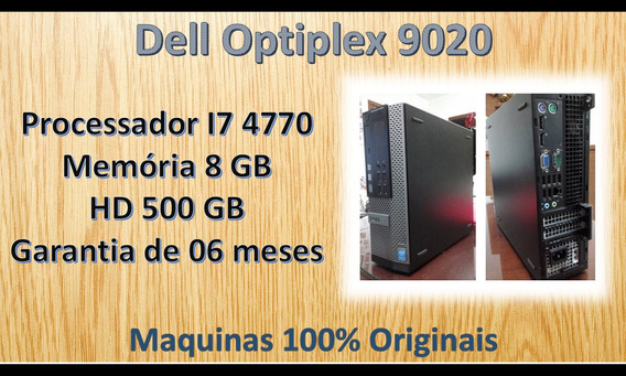 Dell Optiplex 9020 - I7 4770 - 8 Gb Memoria - Hd 500 Gb