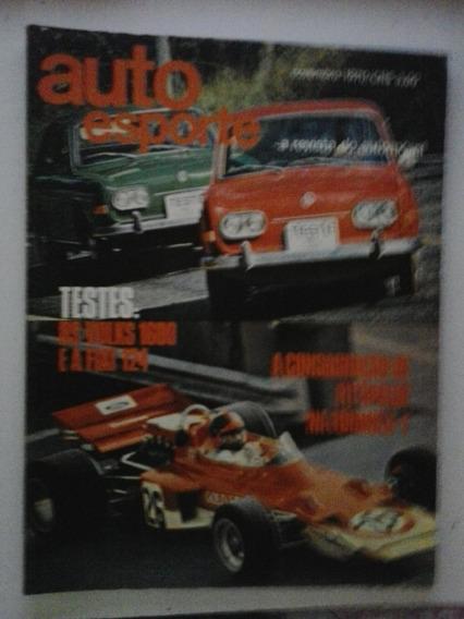 Revista Auto Esporte N° 73 - Novembro 1970