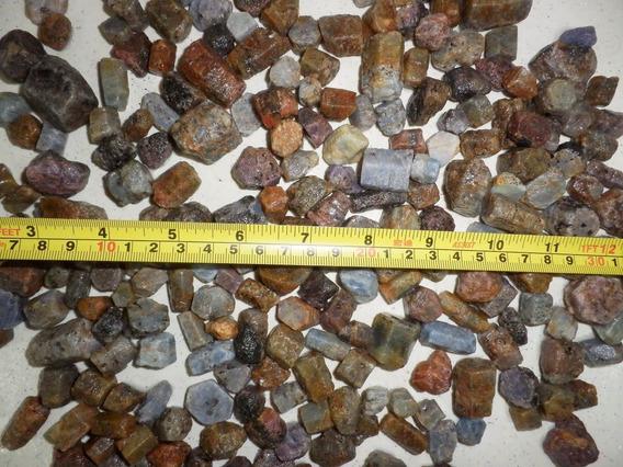 Safira Bruta Exagonal Natural 1 Kilo