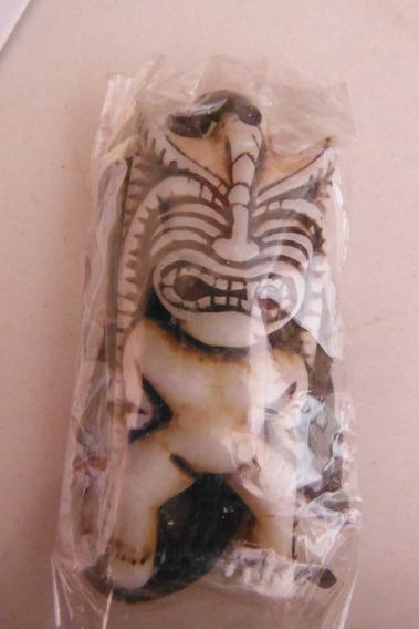Collar Figura Idolo Tribal Souvenir Hawai
