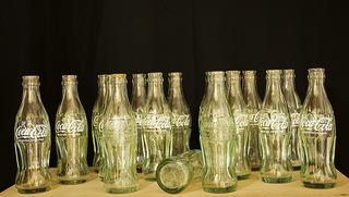 Botellas De Coca Cola Usadas De 185 Cc