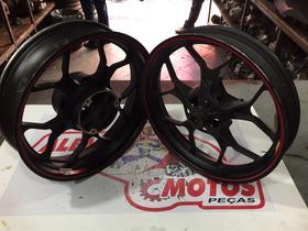 Par De Rodas Dianteira E Traseira Yamaha R3 Alemão Motos
