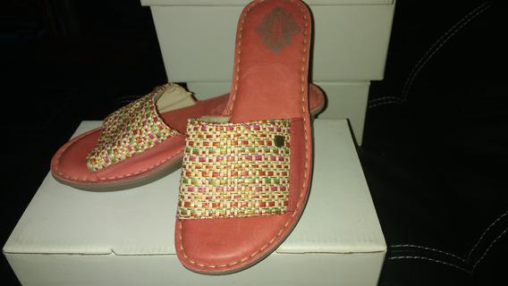 Sandalias Mujer Stitching