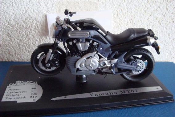 Miniatura Yamaha Mt-01 - Solido 1:18 - Raro - Na Embalagem